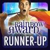 Rainbow Awards Runner-Up Sticker